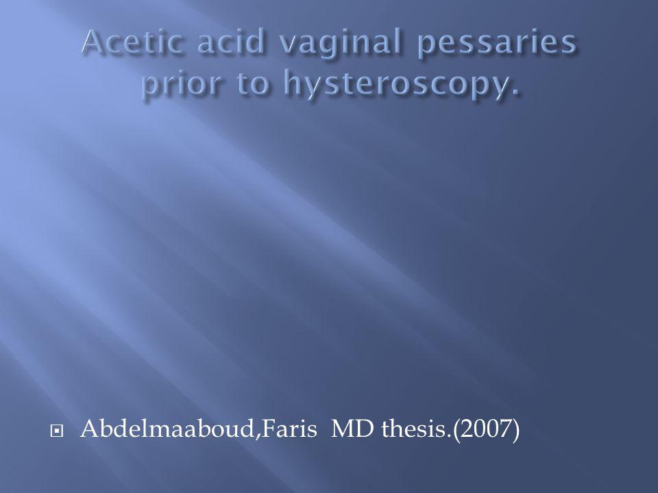 Abdelmaaboud,Faris MD thesis.(2007)