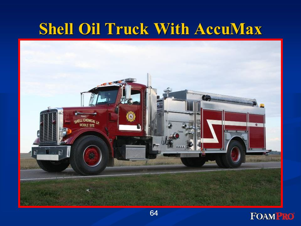 64 Shell Oil Truck With AccuMax