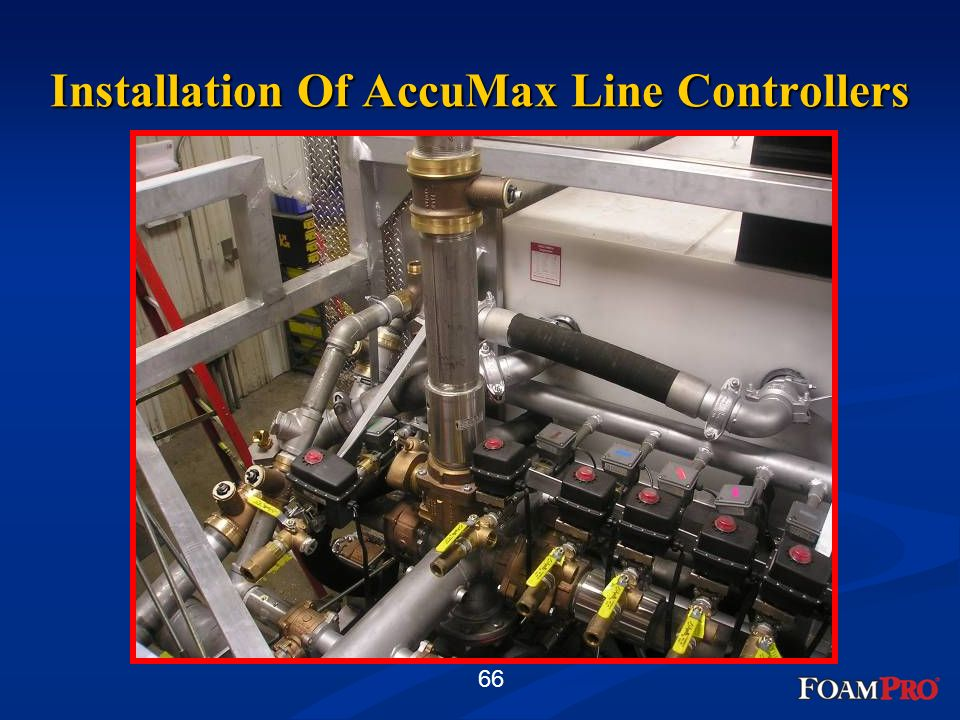 66 Installation Of AccuMax Line Controllers