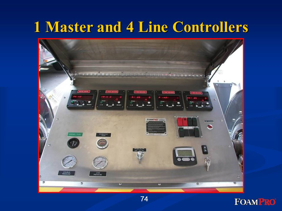74 1 Master and 4 Line Controllers