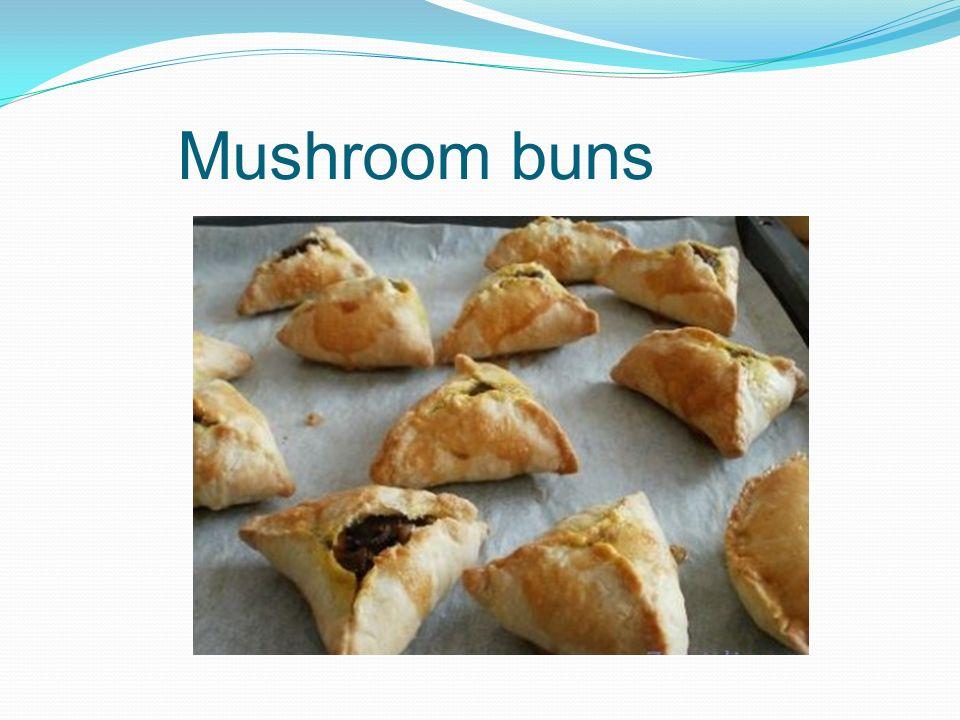Mushroom buns