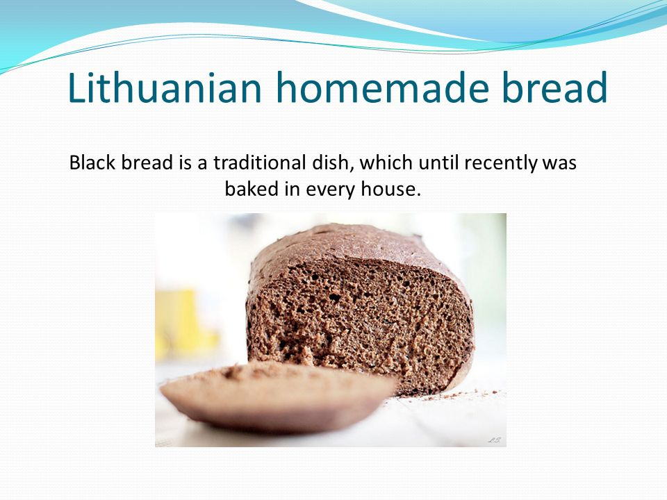 Preparation of homemade bread: First day mixture is made of: 1 cup prepared (whey) yeast (200 g); 2 glasses of wholegrain rye flour (200 g); 0,5 glass of warm water (100 g).