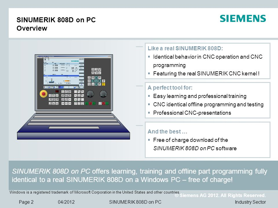 © Siemens AG 2012.All Rights Reserved.