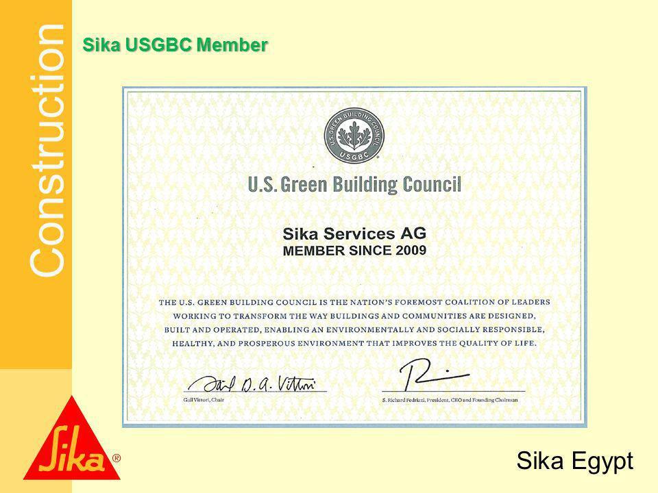 Construction Sika Egypt SikaUSGBCMemberSika USGBC Member