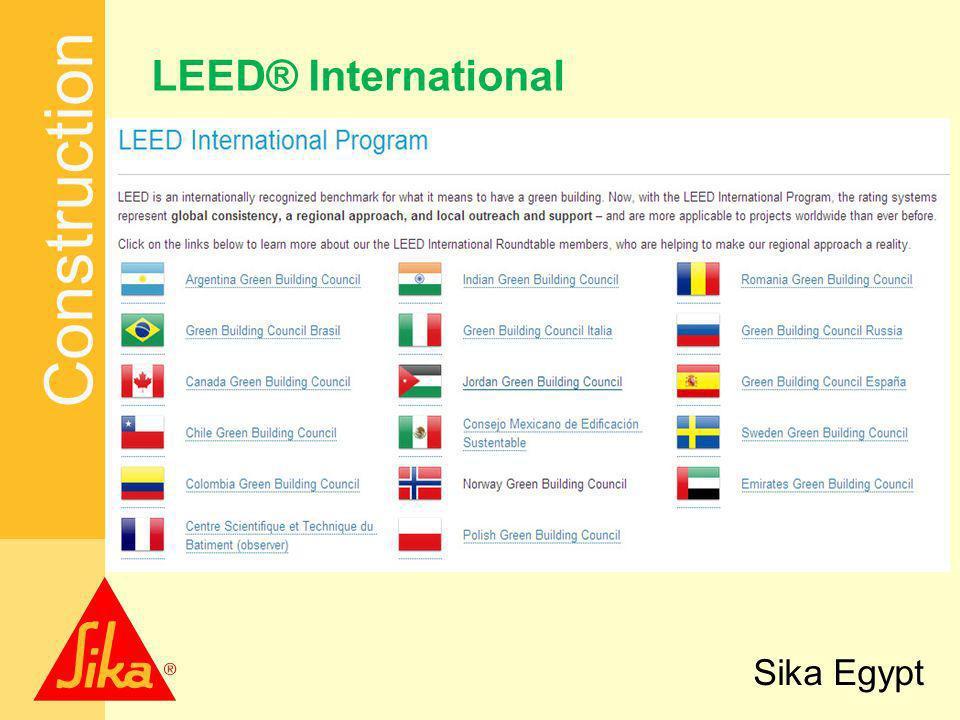 Construction Sika Egypt LEED® International