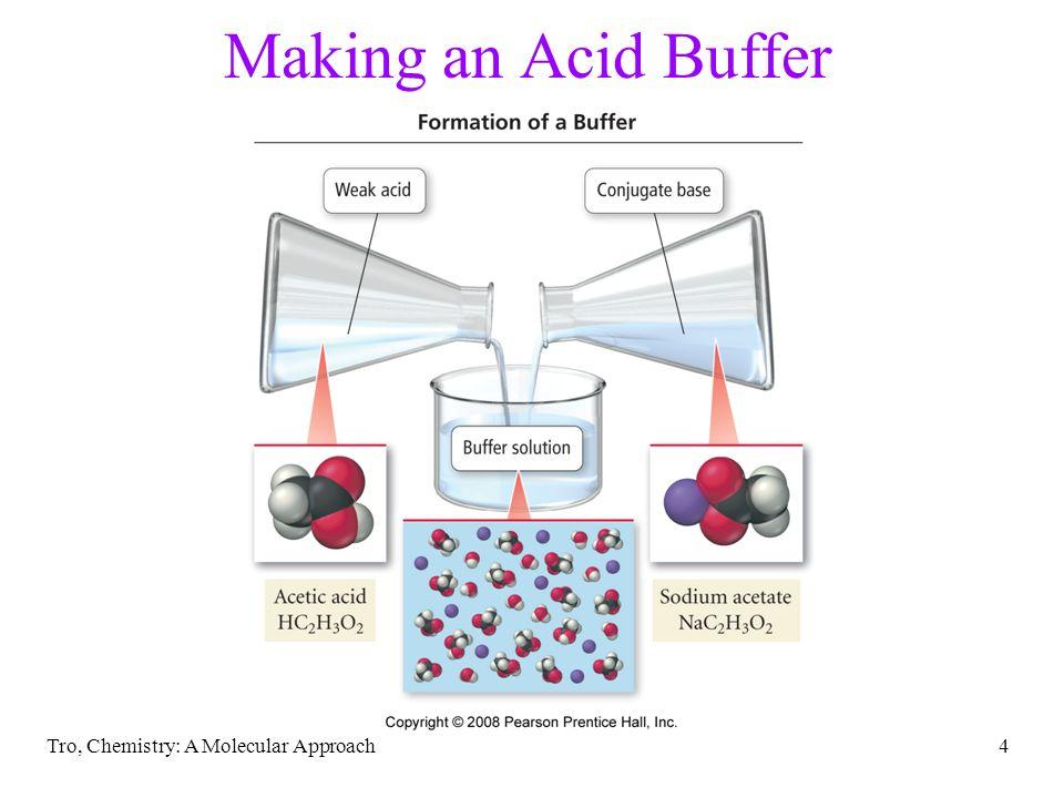 Tro, Chemistry: A Molecular Approach4 Making an Acid Buffer