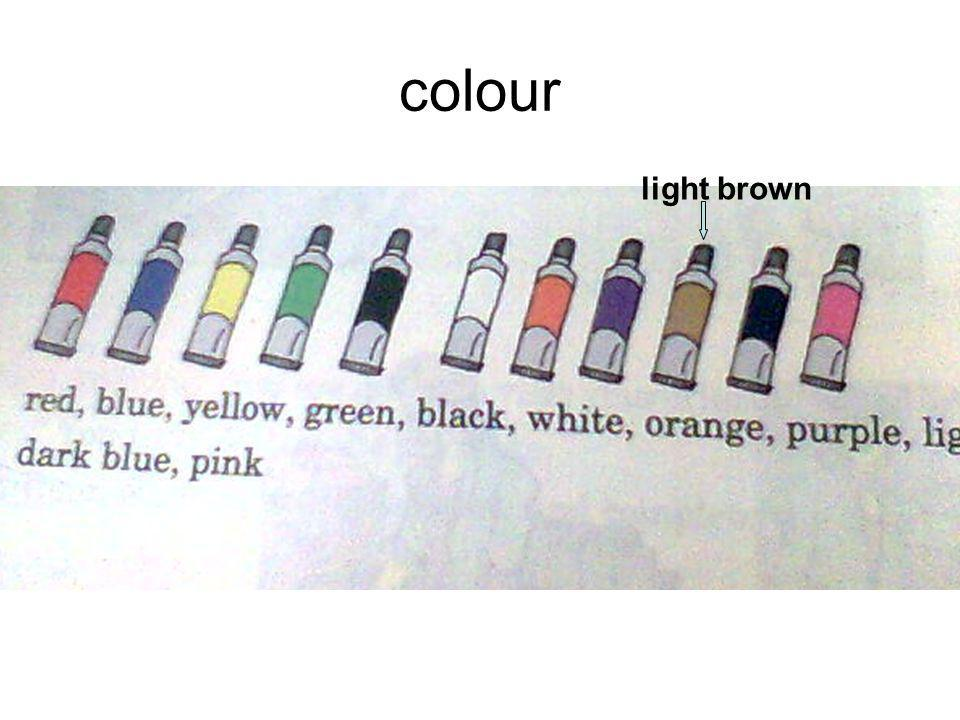colour light brown