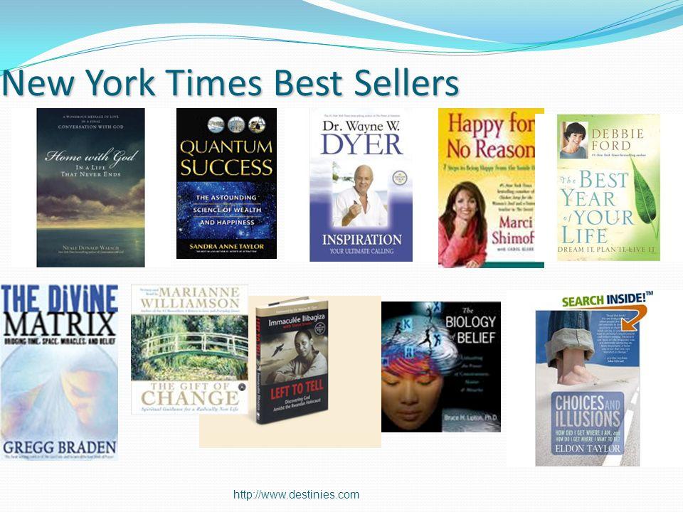 http://www.destinies.com New York Times Best Sellers
