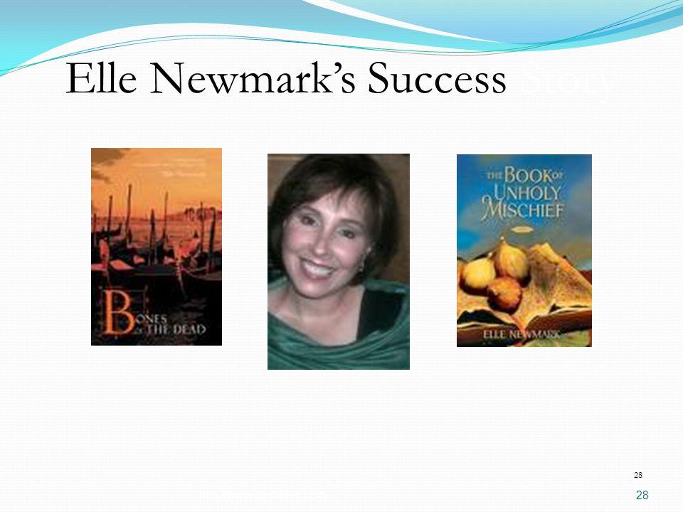 Elle Newmarks Success Story http://www.destinies.com28 28