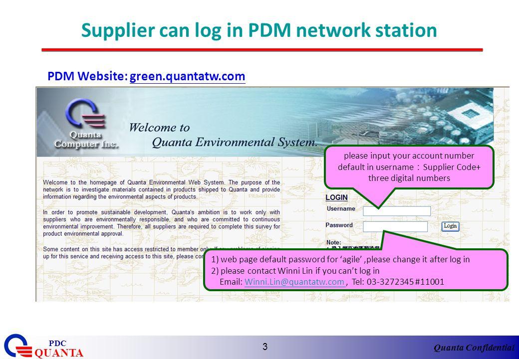 Quanta Confidential QUANTA PDC 34 WIN MD rejected checking- (Contd)- Contact US 1.