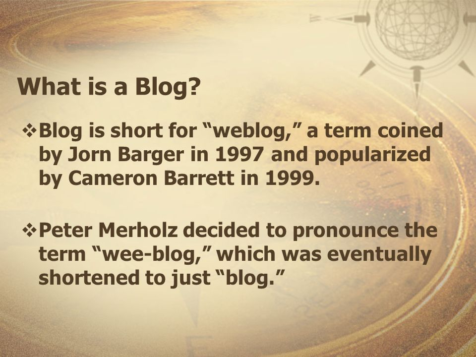 Name Your Blog Name should be identifiable Information Literacy Blog Write down your Blog address (URL) Continue