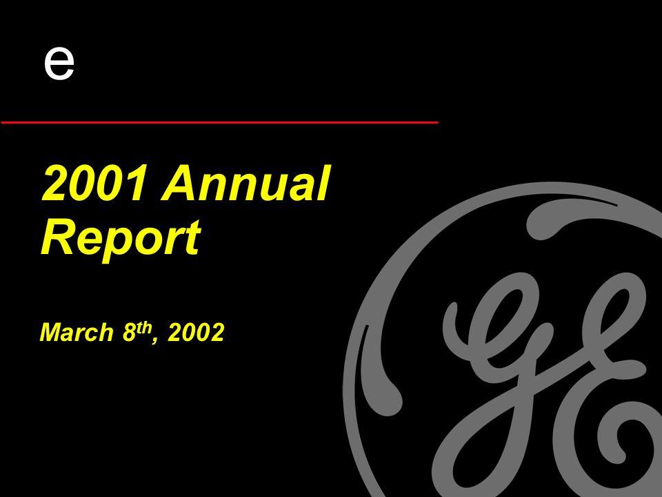 2001 Annual Report March 8 th, 2002 e
