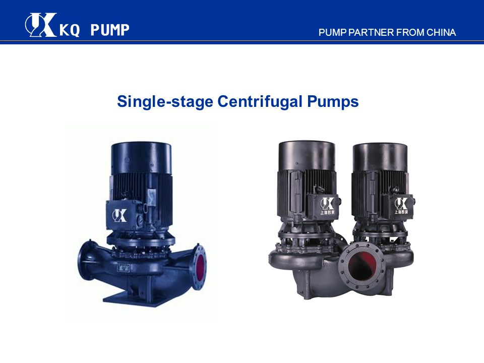 PUMP PARTNER FROM CHINA Single-stage Centrifugal Pumps