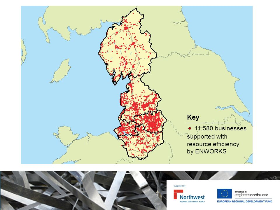 Key 11,580 businesses supported with resource efficiency by ENWORKS