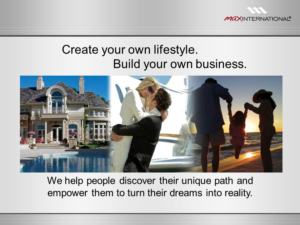 You Team Commissions Earn 10% of your Pay Team Unlimited 7-level matching check bonuses Help someone make $2,000/month and you can make $1,000/month.