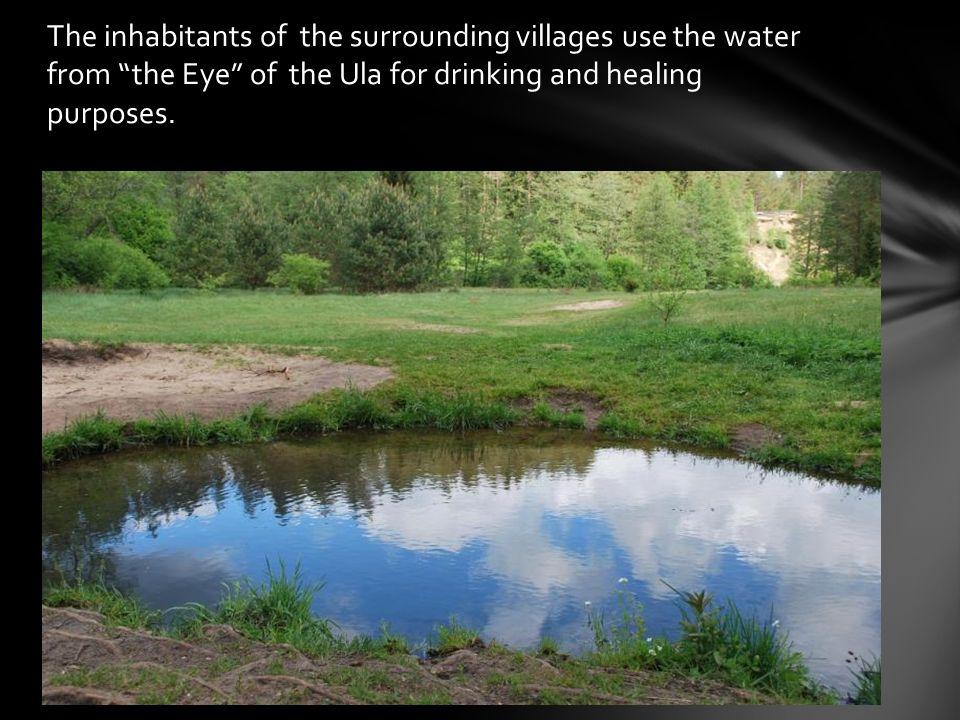 Senior inhabitants believe that this springs water can help with various diseases.