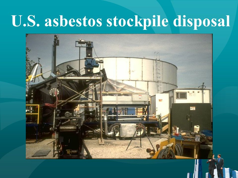 U.S. asbestos stockpile disposal