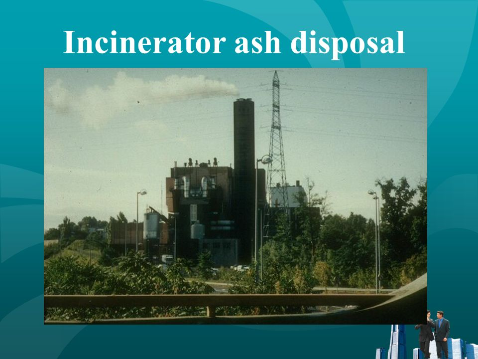 Incinerator ash disposal