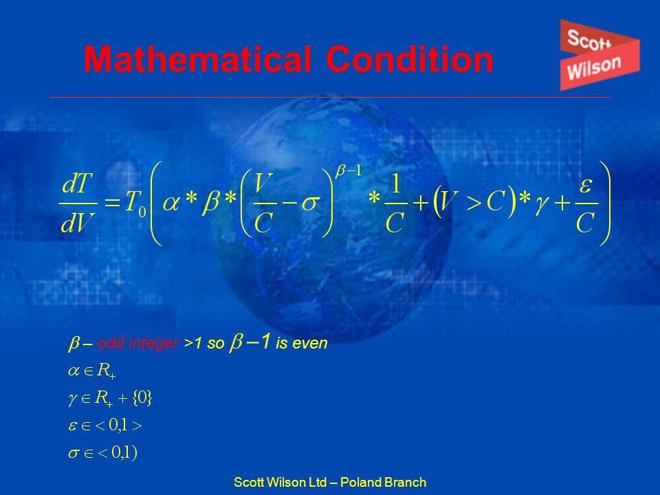 Scott Wilson Ltd – Poland Branch Mathematical Condition – odd integer >1 so –1 is even