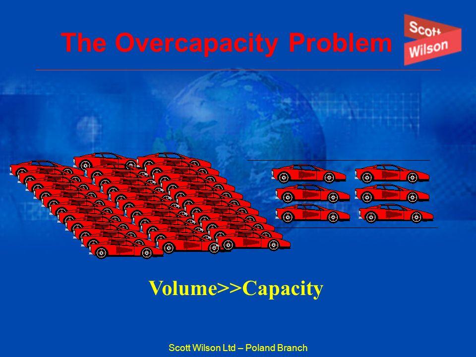 Scott Wilson Ltd – Poland Branch The Overcapacity Problem Volume>>Capacity