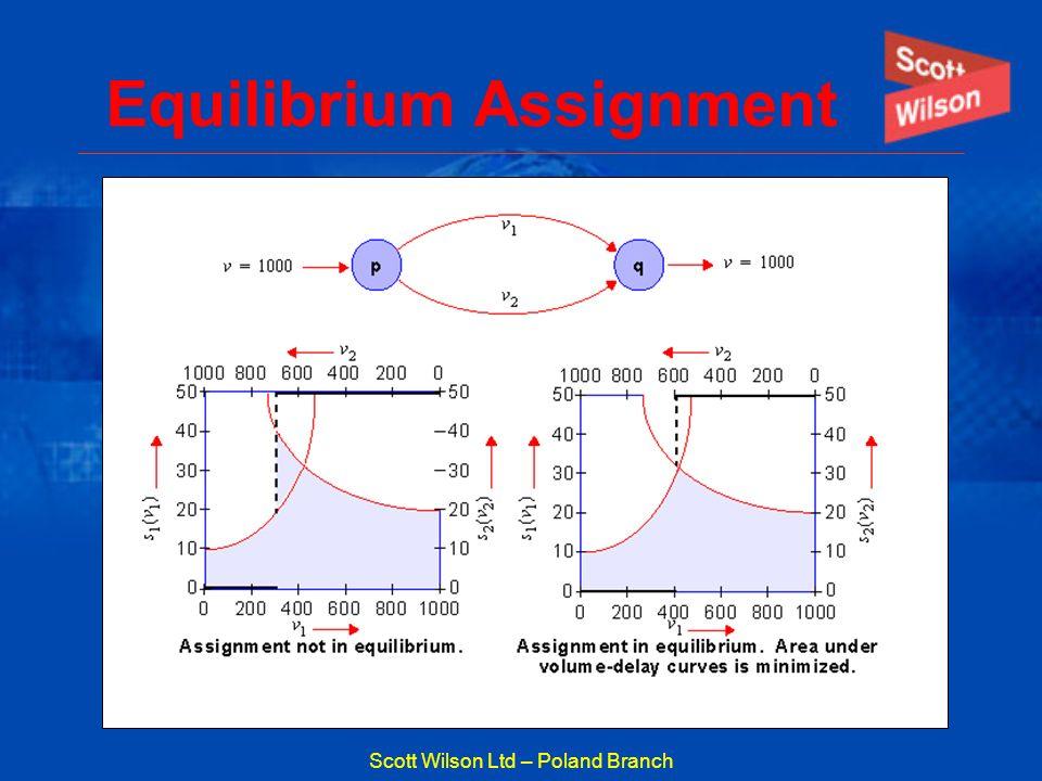 Scott Wilson Ltd – Poland Branch Equilibrium Assignment