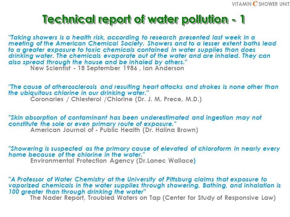 Chlorine test result(2) Negative Ion Test