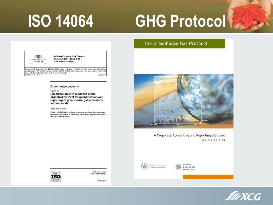 ISO 14064 GHG Protocol