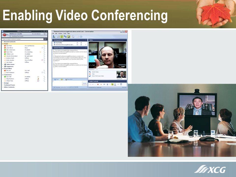 Enabling Video Conferencing