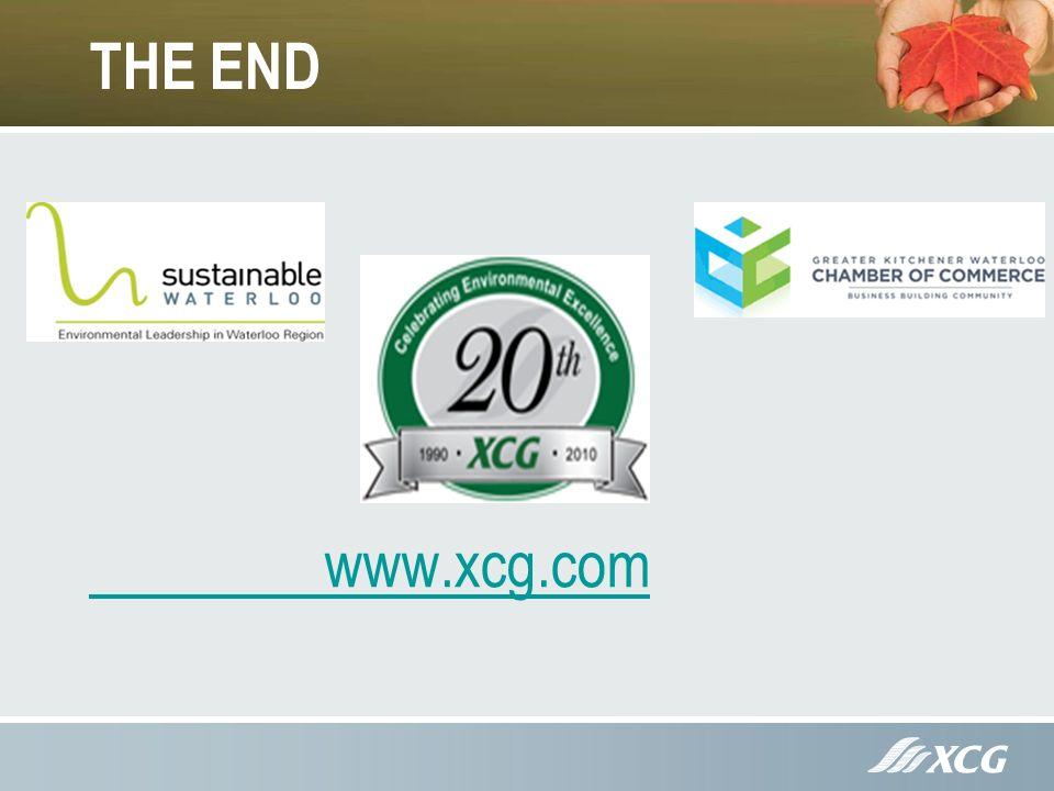 THE END www.xcg.com