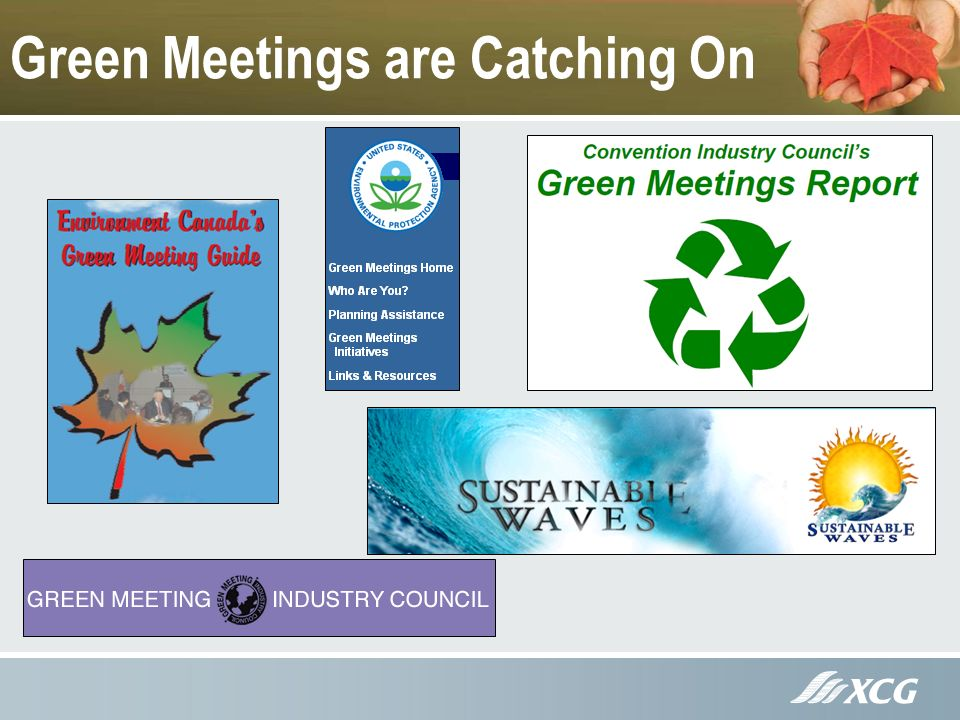 Green Meetings are Catching On