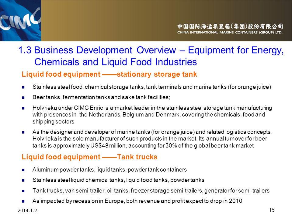 15 2014-1-2 Liquid food equipment stationary storage tank Stainless steel food, chemical storage tanks, tank terminals and marine tanks (for orange ju