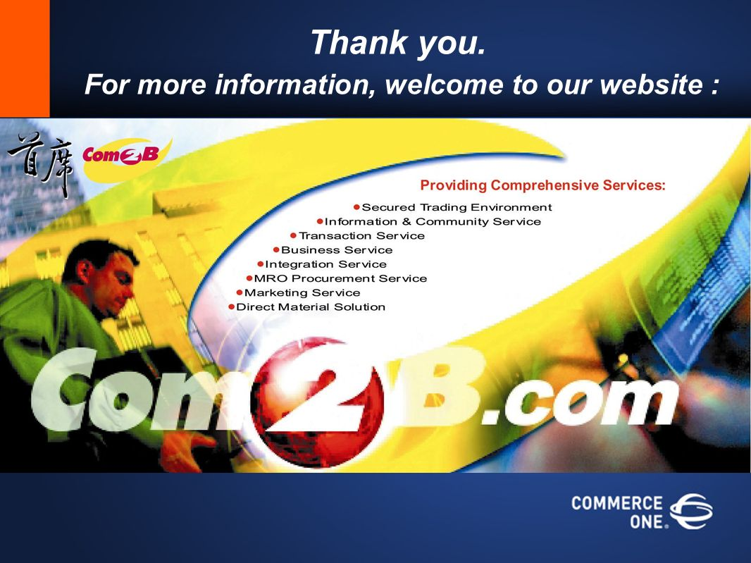 Thank you. For more information, welcome to our website :