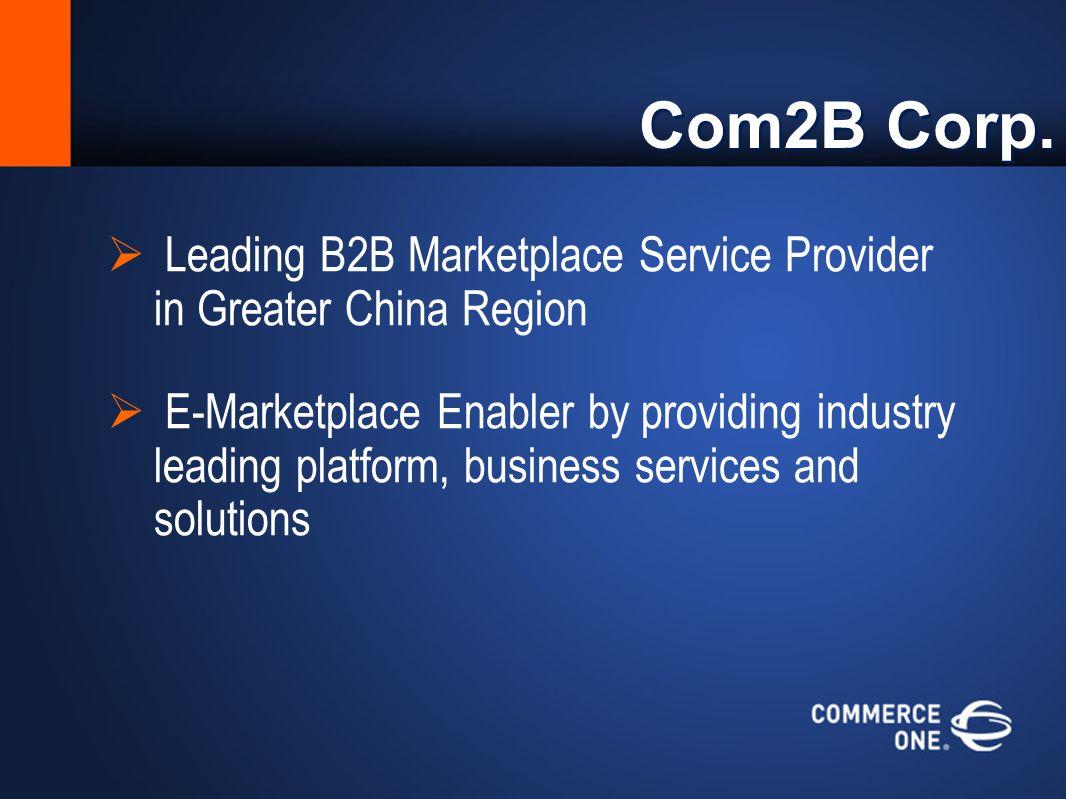 Com2B Corp.