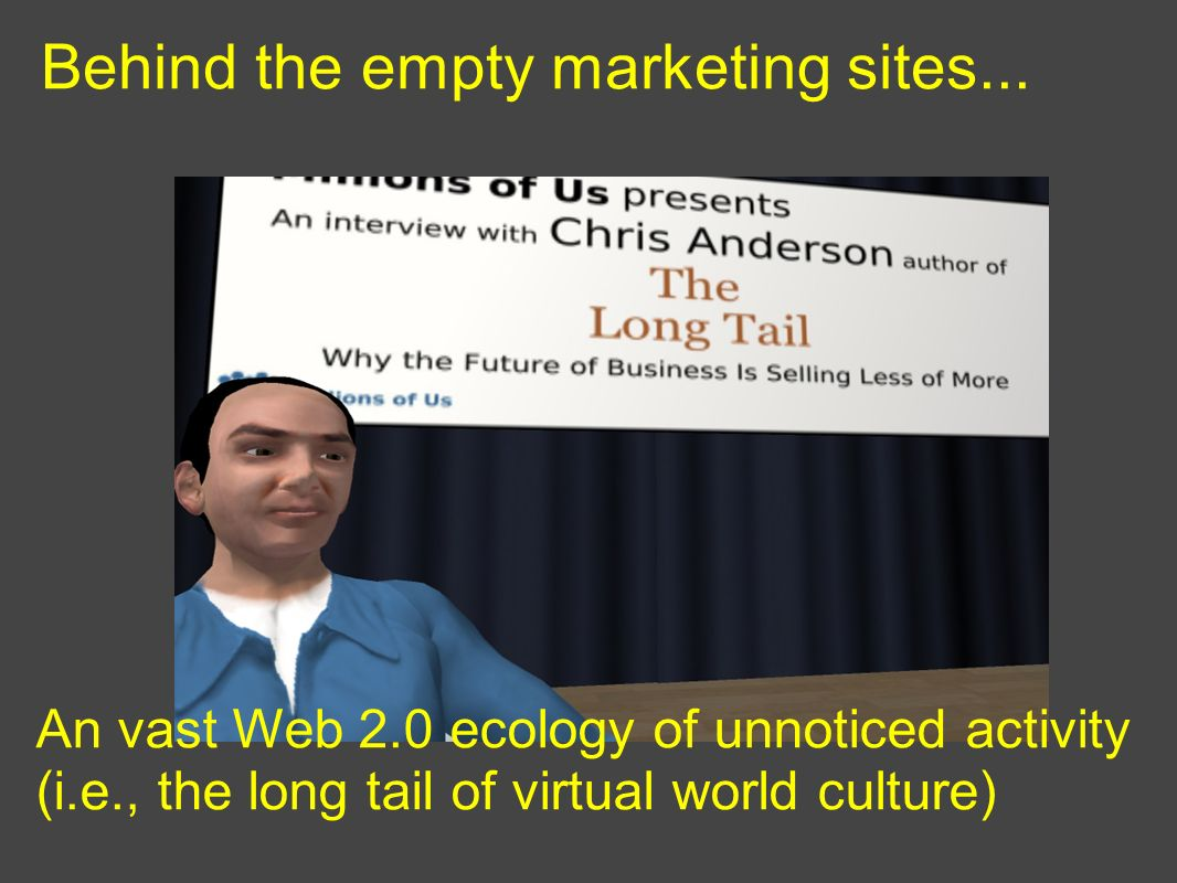 Behind the empty marketing sites...