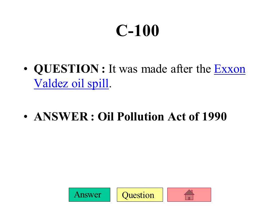 Question Answer B-500 QUESTION : This law came into existence following widespread protests against the federal government s destruction of neighborhoods and the natural environment while building Interstate highways during the 1950s and 1960sInterstate highways ANSWER : National Environmental Policy Act (NEPA