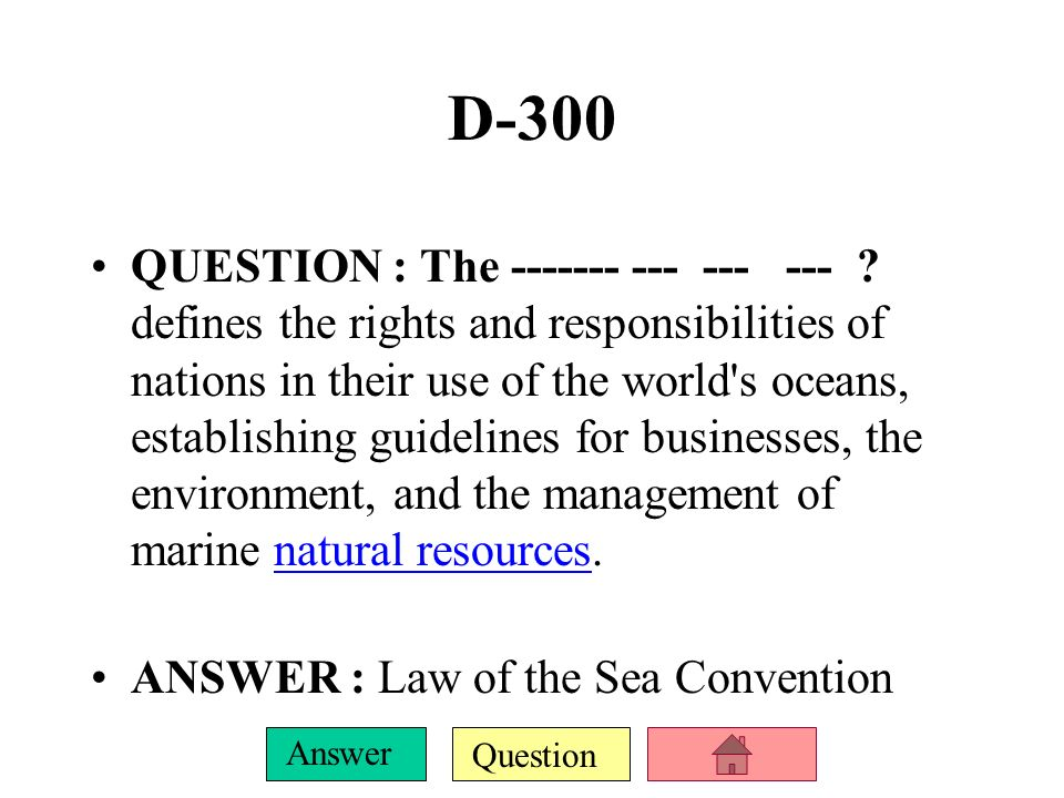 Question Answer D-200 QUESTION : It was the UN s first major conference on international environmental issues, and marked a turning point in the development of international environmental politics.