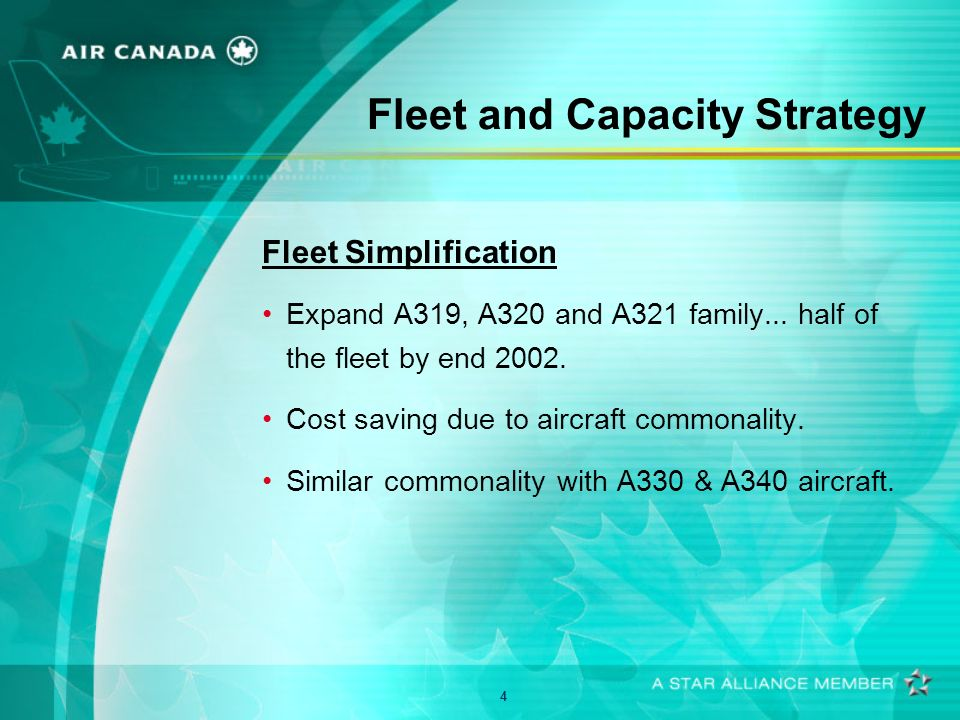 5 Fleet and Capacity Strategy Seat Reconfiguration Program More economy class seating on A320, B767 and B737.