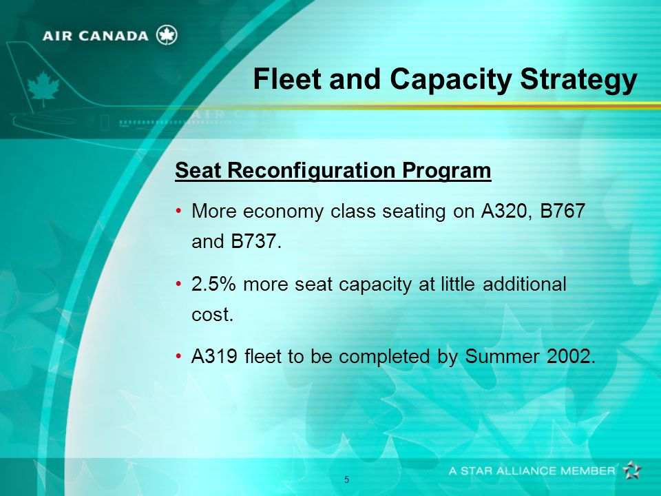 6 Fleet and Capacity Strategy Improvement in Productivity Hours flown cut by 13%.