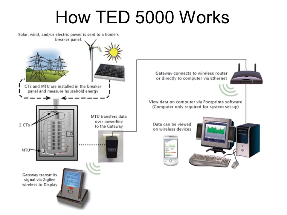 How TED 5000 Works