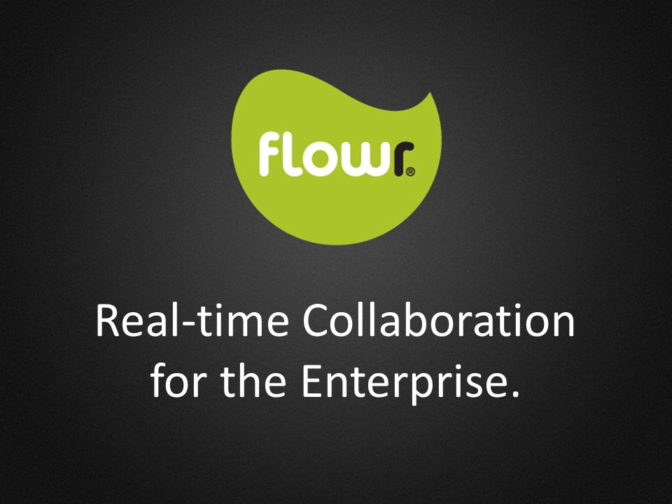 Real-time Collaboration for the Enterprise.