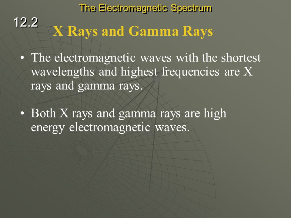 Ultraviolet Waves Ultraviolet waves are electromagnetic waves with wavelengths from about 400 billionths to 10 billionths of a meter. Overexposure to