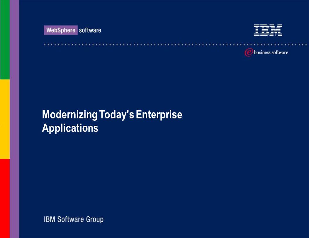 Modernizing Today's Enterprise Applications