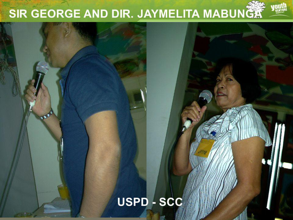 17 SIR GEORGE AND DIR. JAYMELITA MABUNGA USPD - SCC