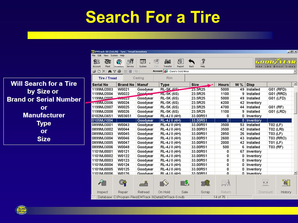 Search For a Vehicle Will Search for a Vehicle by Vehicle Type or Unit Number