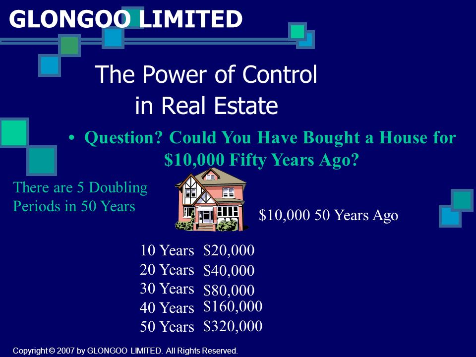 The Power of Control in Real Estate Question.