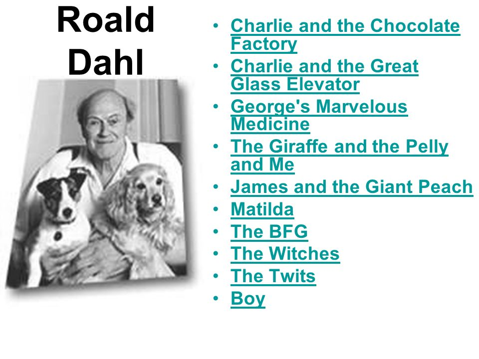 Roald Dahl Charlie and the Chocolate FactoryCharlie and the Chocolate Factory Charlie and the Great Glass ElevatorCharlie and the Great Glass Elevator