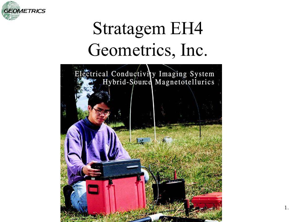 """Presentation """"1.1 Stratagem EH4 Geometrics, Inc.. 1.2 Stratagem ..."""