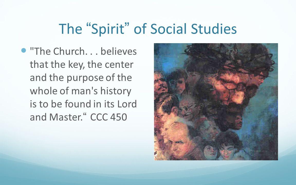 The Spirit of Social Studies