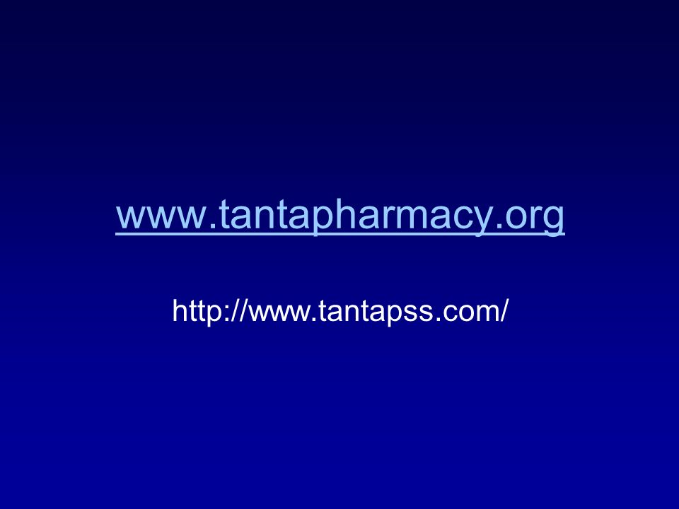 www.tantapharmacy.org http://www.tantapss.com/
