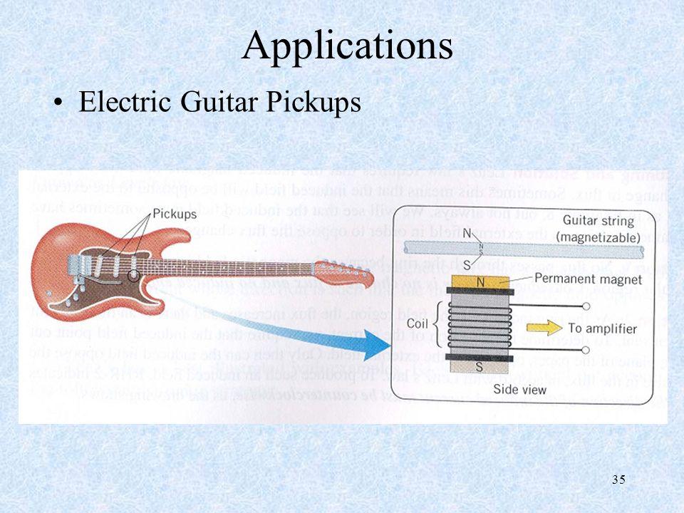 35 Applications Electric Guitar Pickups